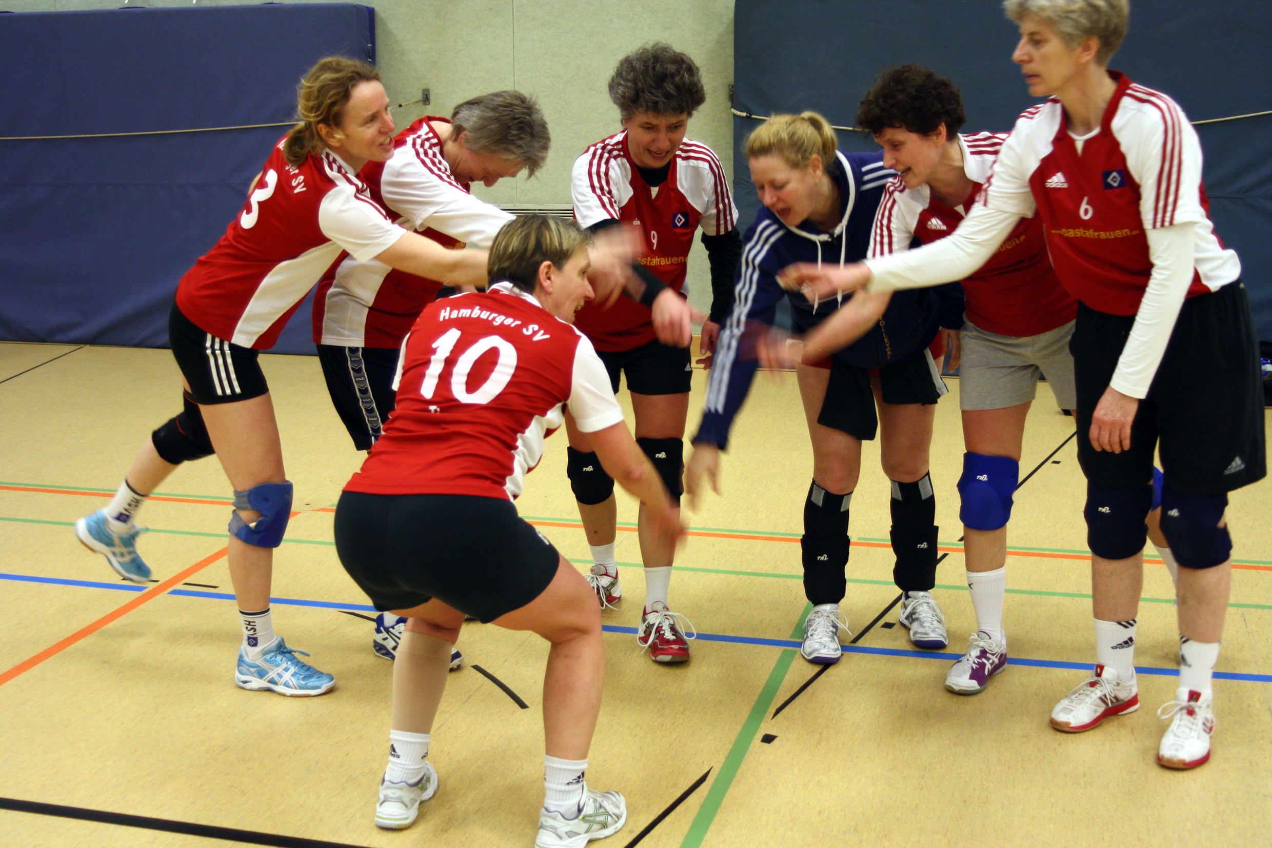 hechtbagger volleyball technik